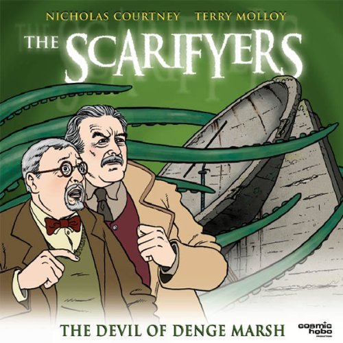 『The Scarifyers: The Devil of Denge Marsh』のカバーアート