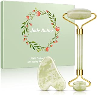 Jade Roller, Beauty Roller to Improve the Appearance of Your Skin, Provide Relaxation, Massage Your Face & Enhance Your Sk...