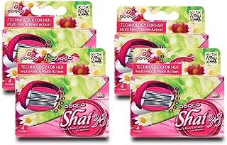 Dorco Shai SoftTouch 6- Six Blade Razor Shaving System- Value Pack - 16 Cartridges (No Handle)