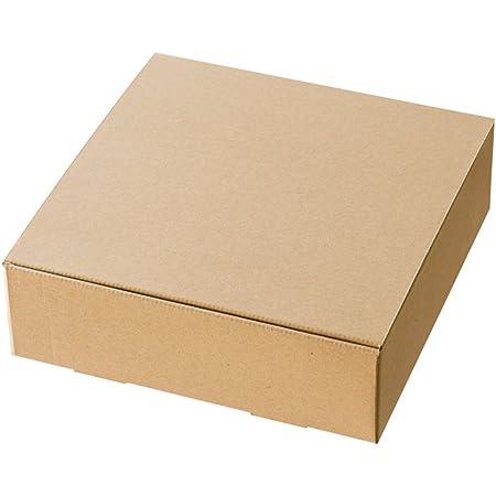 ヘッズ 日本製 箱 クラフト スマートボックス 無地 272×82×280mm 10枚 HEADS MSM-GB12