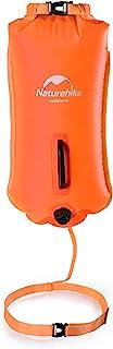comprar comparacion Naturehike 28L Boya de Natación Inflable con Cinturón Ajustable para Aguas Abiertas Flotador de Remolque para Nadadores y ...