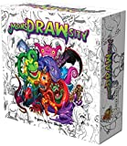 Deep Water Games MonsDRAWsity, Drawing Party Game based on Verbal Description, Take Turns Describing & Drawing a Bizarre Monster - Be The Player Whose Drawing Most Closely Matches, 8+, 3-8 Players