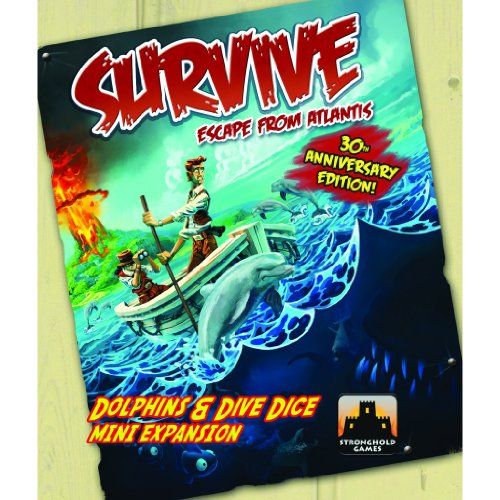 Survive Dolphins & Dive Dice Mini Expansion