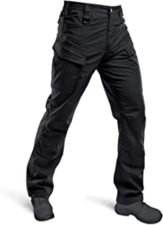 HARD LAND Tactical Pants for Men- Lightweight Cargo Work Pants Ripstop Waterproof Hiking BDU Hunting Pants