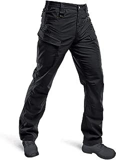 HARD LAND Men's Waterproof Tactical Pants Ripstop Lightweight Work Cargo Pants BDU Military Trousers