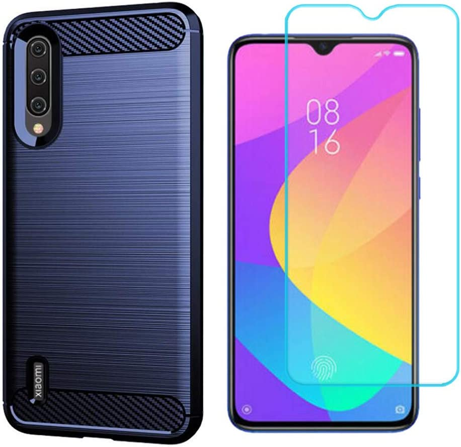 Ytaland case for Xiaomi Mi A3 Omaha Mall Denver Mall with Tempered Glass Screen Protect