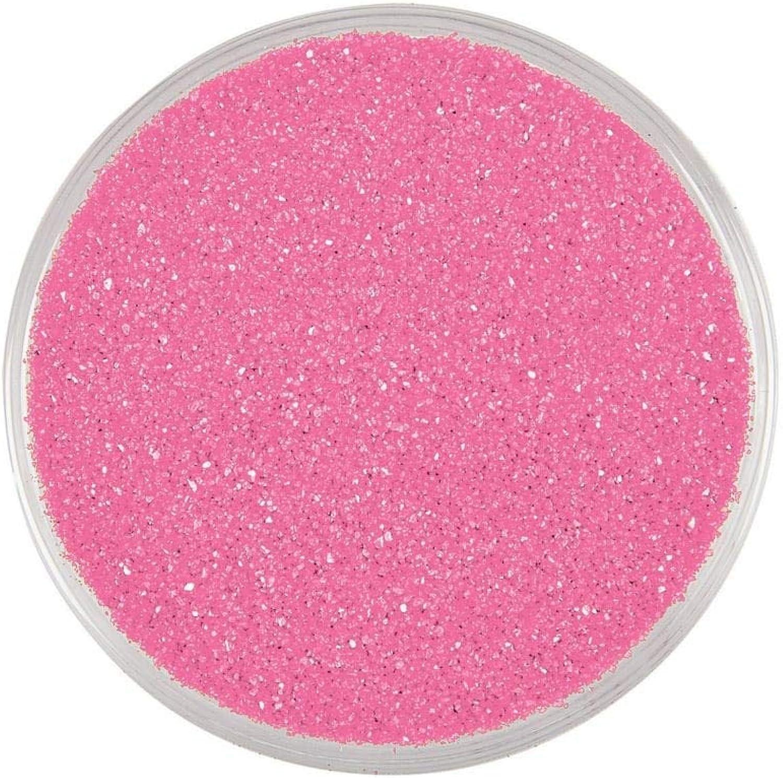 Pink colorful Decorative Sand (1 Lb.) Arts & Crafts