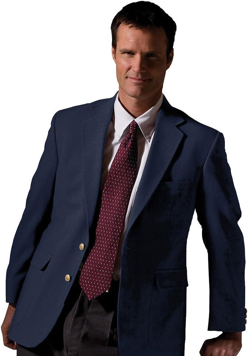 Edwards Garment Men's Lightweight Hopsack Breast Pocket Classic Blazer