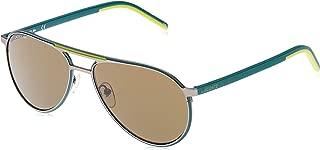 Lacoste Unisex Adults' L193S 024 58 Sunglasses, (Matte Dark Grey)