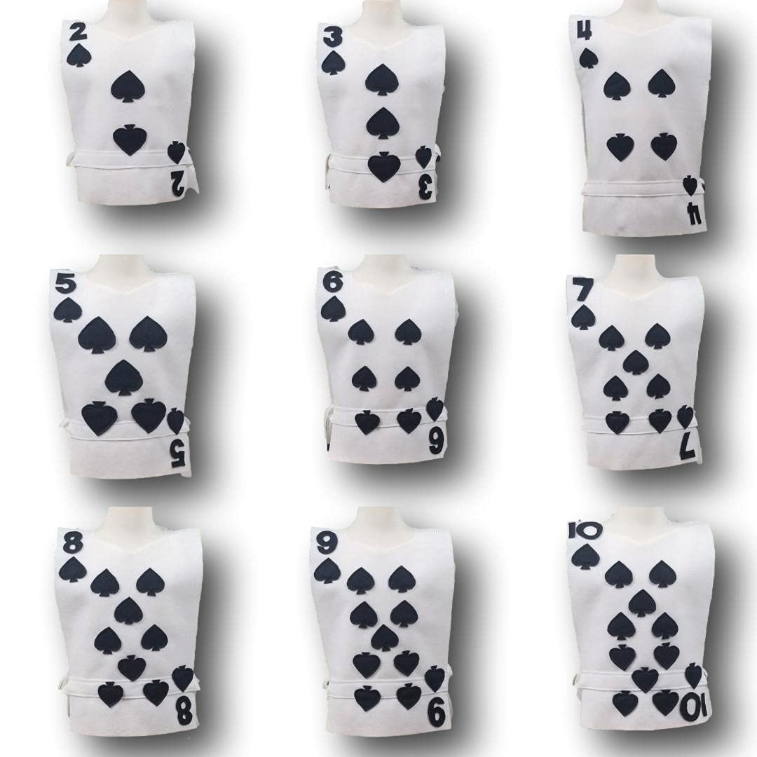 Adult All stores are sold Clubs Playing Card Costume - Alice Tunic Choose your Jacksonville Mall