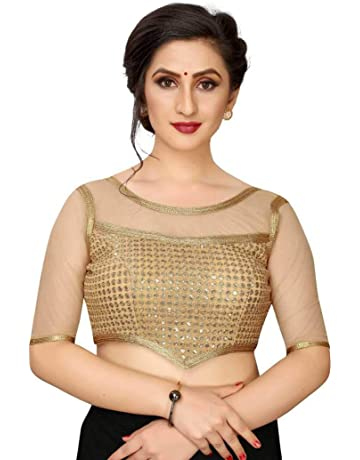 Fantom blouse,Readymade Saree Blouse Princess Cut Blouse Designer Blouse,Indian Blouse,Trendy Blouse Heavy Fantom Blouse Bridal Sarees