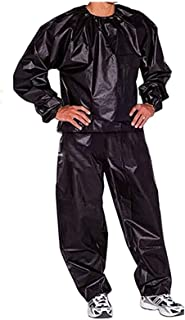 Sauna Suit, Heavy Duty Sauna Suit Sueating Weight Loss Suit Gym Fitness Workout Clothing Men Women Exercise Training Track...
