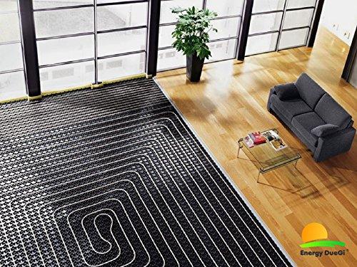 Komplettanlage mit Fußbodenheizung, Renovierung für Hauswasseranlagen mit 60 qm