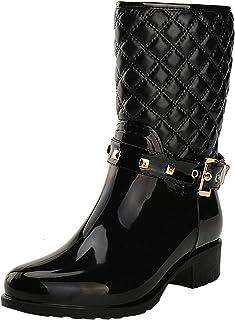 comprar comparacion Alexis Leroy - Botas de Lluvia con Cremallera para Mujer