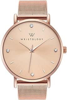 WRISTOLOGY Olivia - 3 Options - Womens Big Crystal Rose Gold Watch
