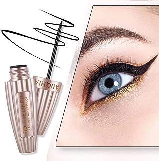 Waterproof Liquid Eyeliner, Hamkaw Long Lasting Liquid Eyeliner Pen, 3D Look Liquid Eyeliner - Water Resistant, Anti-Blooming Long Lasting Color Lock, Natural Repair Formula