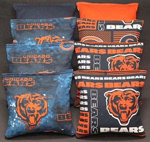 chicago bears corn hole bags - 4
