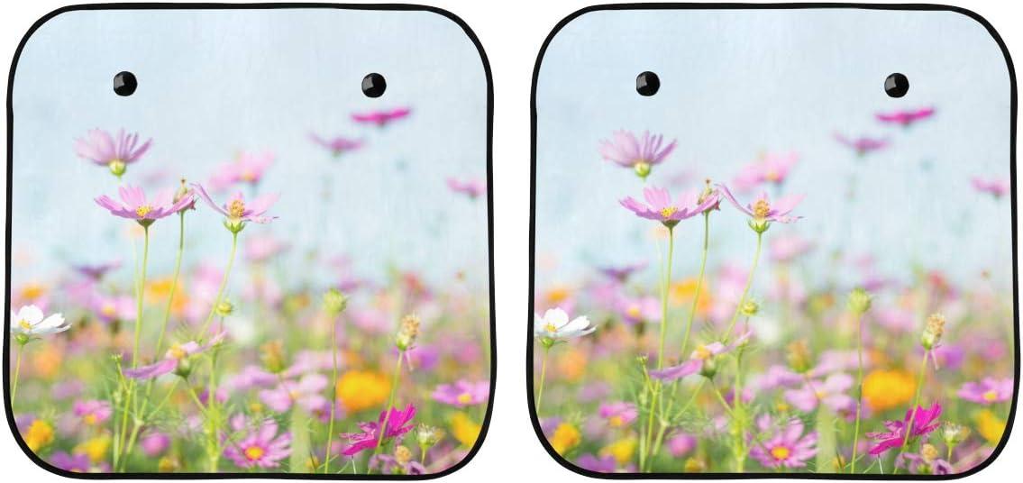 ENEVOTX Cute Windshield Sun Ranking TOP7 Shade Fresh Flowers Summer Ca Spring Translated