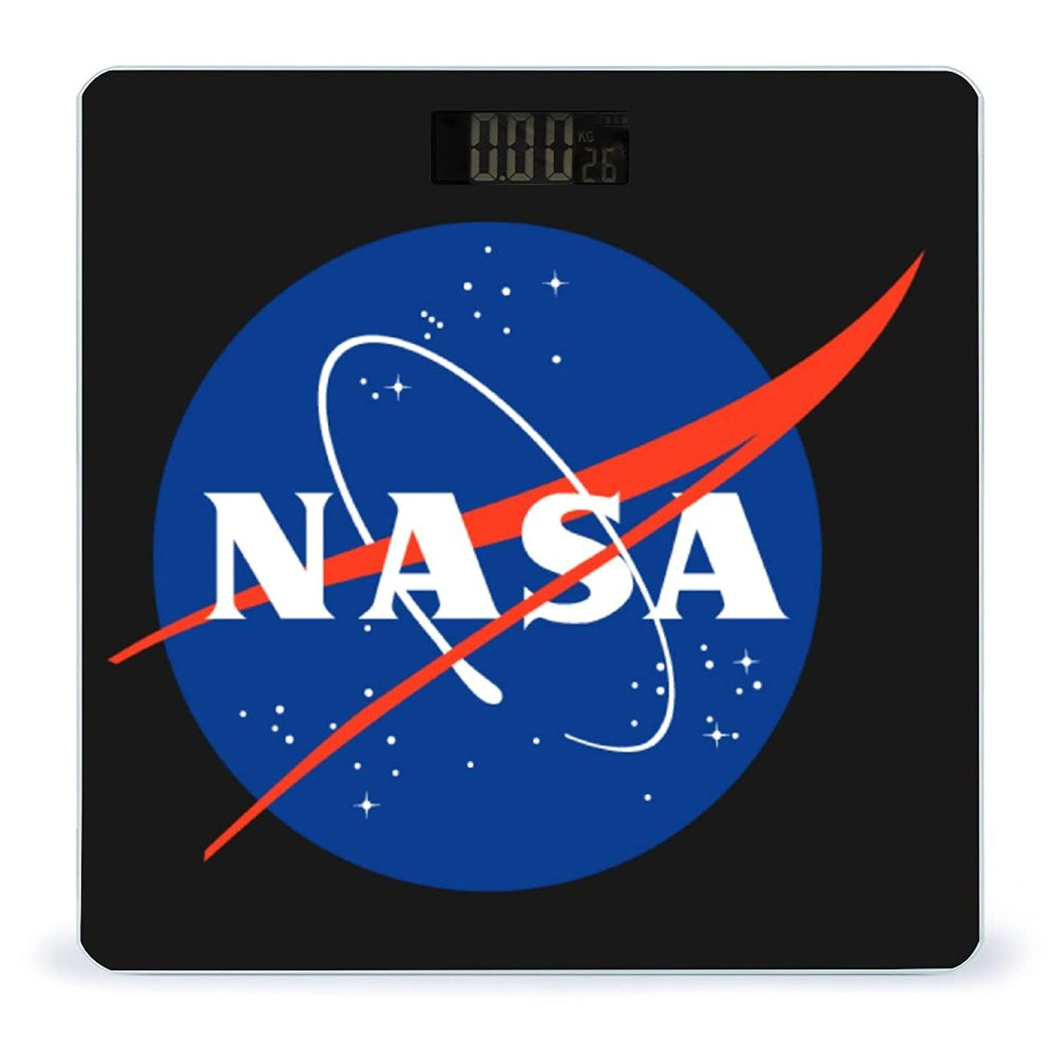 NASA Weight Scale Tempered Glass Easy Display online National products shop Read Backlit LCD