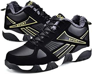 zaragfushfd Autumn and Winter Soft Sports Shoes Running Fitness Sneakers Platform Shoes Warm