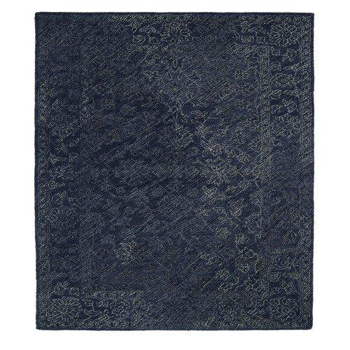 Kaleen Rugs Montage Collection MTG09-10 Denim Hand Tufted 8' x 10' Rug