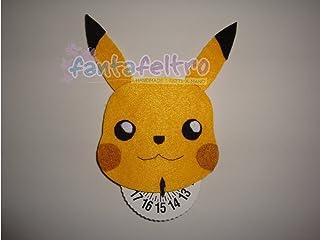 Disco Orario per auto Pokémon - Pikachu