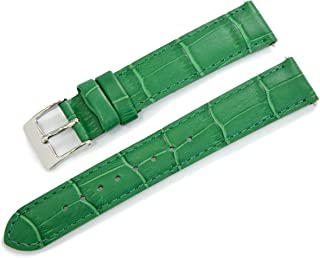 CASSIS AVALLON Alligator Grain Embossed Calf Watch Strap 15mm with Tool