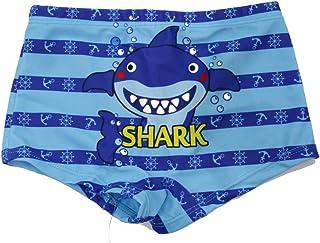 SOL Y PLAYA-Bañador Tiburón para niño Bañador Niños Boxer de Natación Traje de Baño (Shark Shark) Animales Mono ( Monkey )...