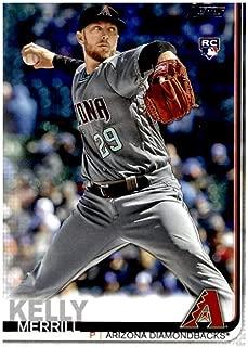 2019 Topps Update #US240 Merrill Kelly Arizona Diamondbacks Rookie Baseball Card