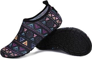 SAGUARO Chaussons Unisex Pantoufle Antidérapantes Atmungsaktiv d'intérieur Slippers