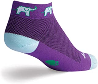 SockGuy Women's 1in Tusker Cycling/Running Socks