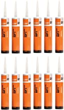 BASF Sealant NP1 Polyurethane Black 10.1 Oz - 12 Pack