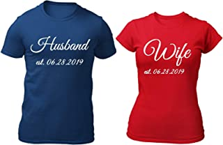 couple t-shirt husband and wife