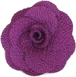 Men's Lapel Flower Handmade Boutonniere Pin for Suit