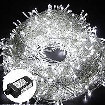 Warm White Party Patio and Wedding Decoration Holiday Home HIKENRI Outdoor Christmas Lights LED String Lights 328FT 500LEDs Fairy LED Starry String Lights for Christmas Garden