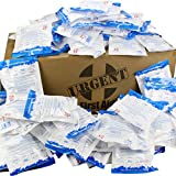 Case of 125 Instant Cold Packs, 5' x 6' (4' x 5' Cold Area) - Disposable Cold Compresses - No pre-Chilling Required for Quick, Effective First aid Treatment & Relief of Aches, Pains, Bumps & Bruises