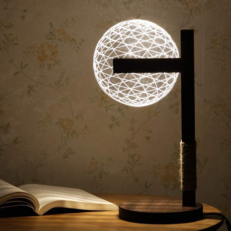 Nordic Modern Floor-Stehendes Wohnzimmer Schlafzimmerdekoration Persönlichkeit Kreative Stereo 3D Night Light LED Lampe Tischlampe B07JK34G8S  | Einfach zu bedienen
