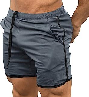 EVERWORTH سروال رجالي لممارسة التمارين الرياضية الملاكمة سروال قصير مناسب للتدريب كمال الاجسام عداء ببطء قصير