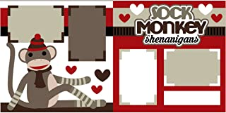 monkey scrapbook layouts
