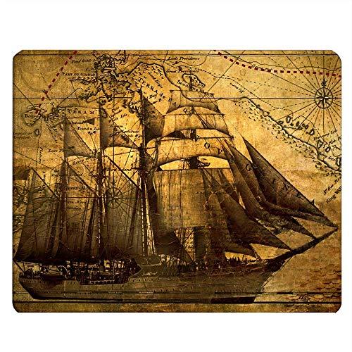 SailingNautical Vintage Sailing Pirate Ship Tema 1000 piezas de rompecabezas, juguetes educativos para niños, juegos de padres e hijos, juegos de desarrollo intelectual