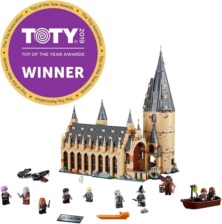 promociones de descuento LEGO LEGO LEGO 75954 Harry Potter Hogwarts Great Hall - Kit de construcción (878 Piezas)  Entrega gratuita y rápida disponible.