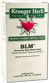 Kroeger Herb Loose Tea, Blue Malva, 1 Ounce