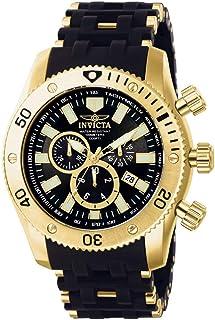 Invicta 0140 Sea Spider Reloj para Hombre acero inoxidable Cuarzo Esfera negro