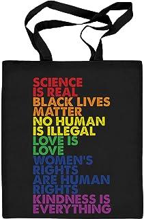 Shirtgeil Love is Love Pride LGBT Kleidung - Lesbian & Gay Jutebeutel Baumwolltasche