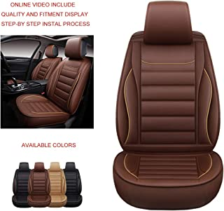 Best red leather car seat covers Reviews