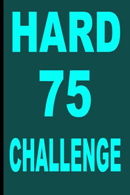 "75 hard challenge: The 75 HARD-Running: Start Where You Are ( size 6""x9"" ,120 Pages , Matte Finish,Women-only journal, Gift )."