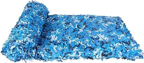 Filet de camouflage oxford Filet de camouflage, Filet d'ombrage, Sun Mesh, Auvents de camouflage, Filet de prougeection solaire, Filet isolant, Convient pour la prougeection Privacy Garden, Couleur bleu o