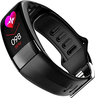 Reloj inteligente con Bluetooth, resistente al agua, IP67, reloj de fitness con pulsómetro, llamada, alarma, podómetro, rastreador de actividad, pulsera para teléfonos móviles iOS y Android