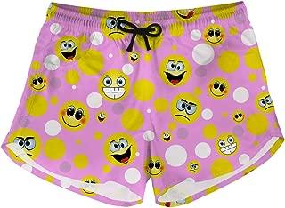 HUGS IDEA Women's Athletic Beach Shorts Boardshorts Casual Summer Quick Dry Swim Trunks