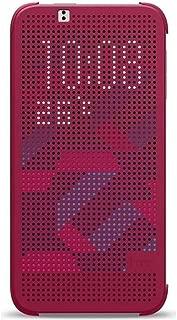 HTC HC M100 Dot View Flip Case for HTC One (M8) (Purple)